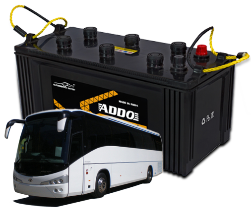 Heavy motor vehicle batteries Application