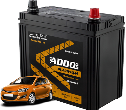 Light motor vehicle batteries Features