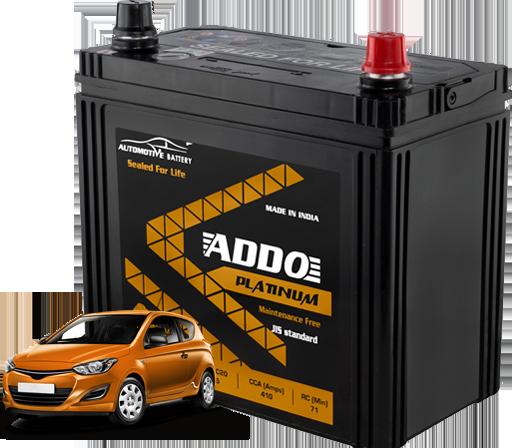 Light motor vehicle batteries Application