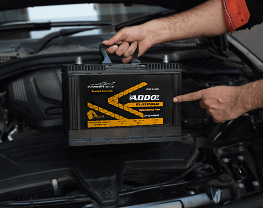 Addo Platinum Light Vehicle Battery