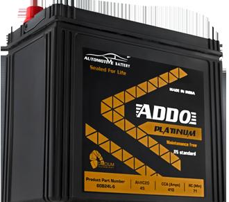 addo platinum maintenance free battrey