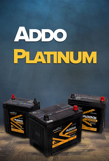addo platinum light vehicle batteries