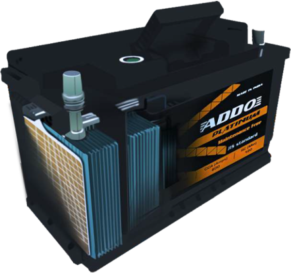 addo platinum heavy vehicle battery